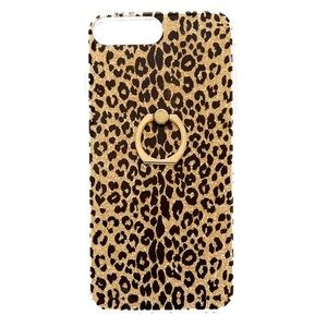 Glittery Cheetah iPhone Case for 6+, 7+, 8+